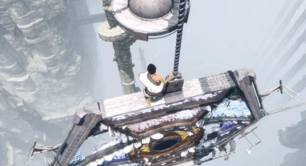人喰いの大鷲トリコ 攻略 ガラスの多い足場と螺旋の塔