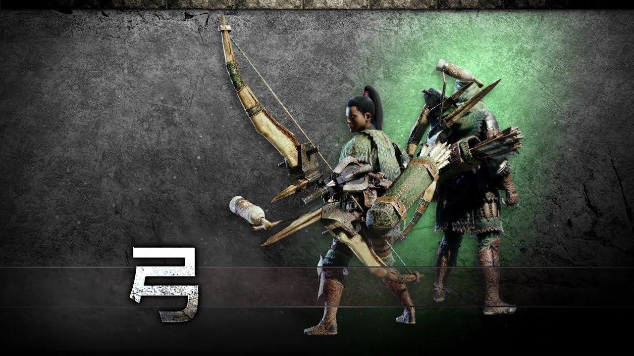 モンハンワールド スキル【抜刀術】で弓が強い武器化?最強防具・スキル構成