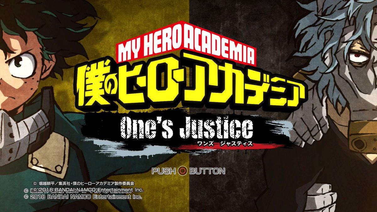 【僕のヒーローアカデミア One's justice】使えるキャラクターが少ない件と感想・評価【ワンズジャスティス】
