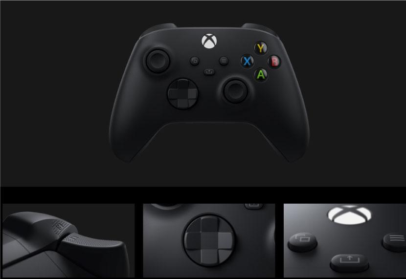 XboxSeriesXのコントローラー